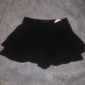 Zara shorts black